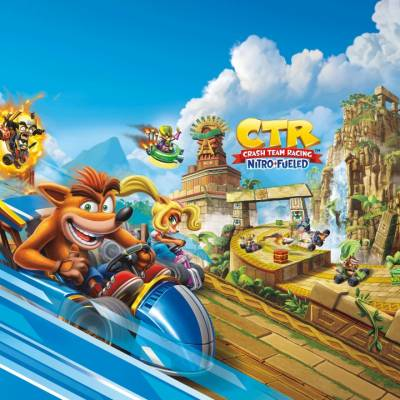 Аренда и прокат Crash Team Racing Nitro-Fueled (ENG) для PS4